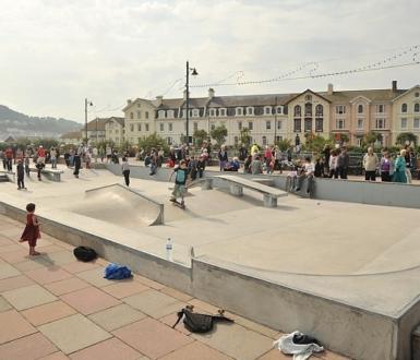 Dawlish Skate Park