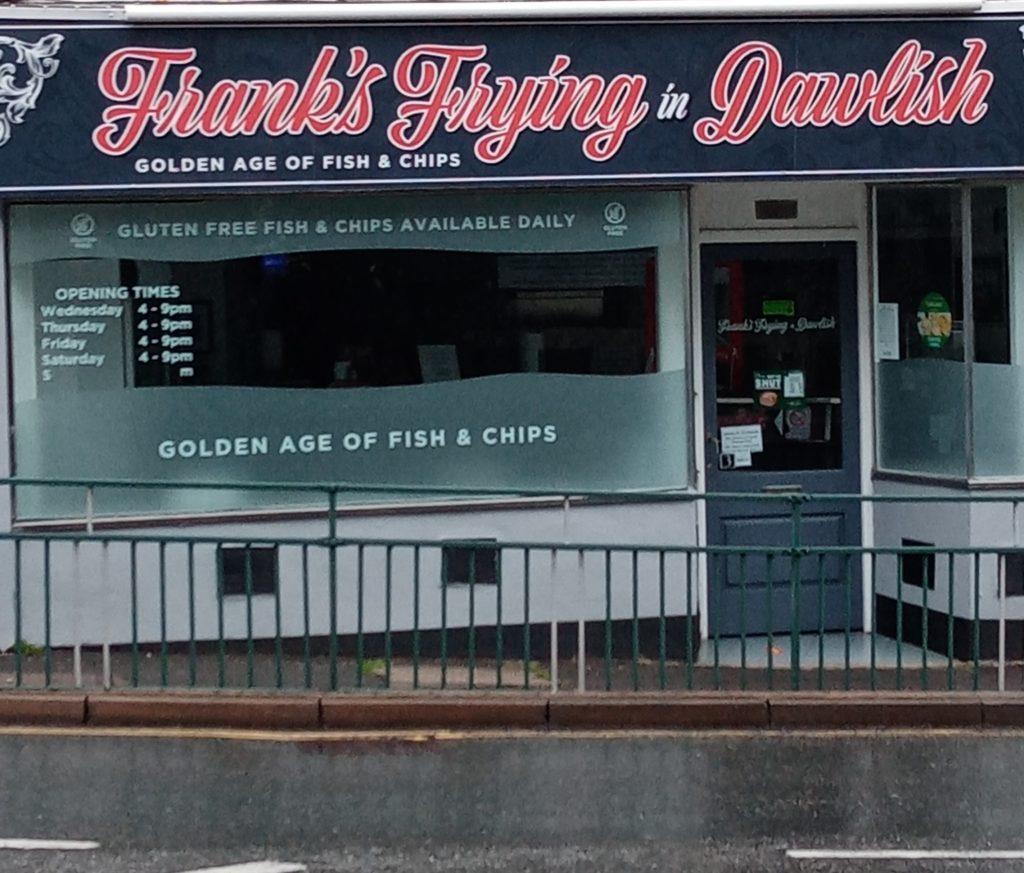 Frank's Frying in Dawlish