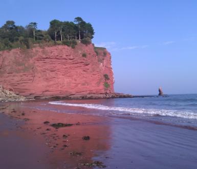 Holcombe Beach Teignmouth