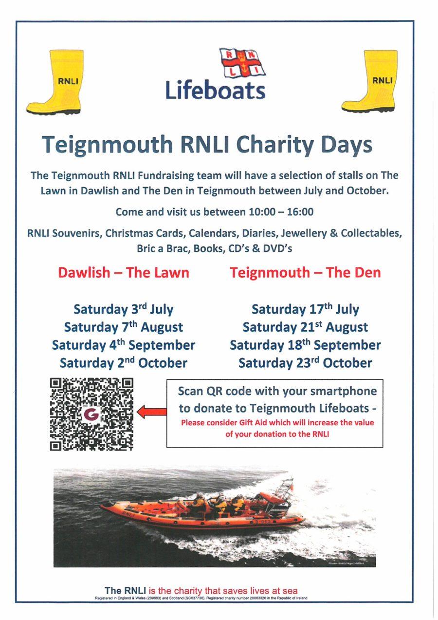 Teignmouth RNLI Charity Days