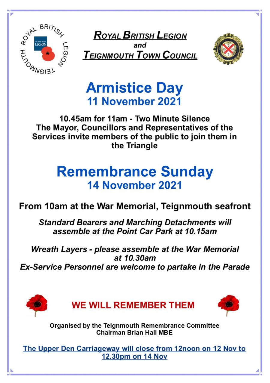 Remembrance Poster 2021